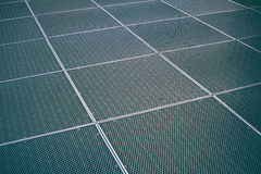 Metal protective net Stock Images
