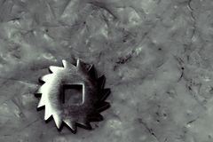 Metal przekładni koło Obraz Royalty Free