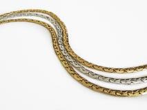 Metal przykuwa biżuterię Fotografia Royalty Free