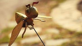 Metal pszczoły ogródu ochrony dekoracja zdjęcie wideo