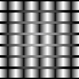 Metal pulido Imagen de archivo libre de regalías