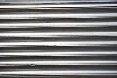 Metal pulido doblado Imágenes de archivo libres de regalías