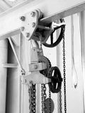 Metal pulley Royalty Free Stock Photo