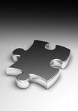 Metal Puzzle stock photos