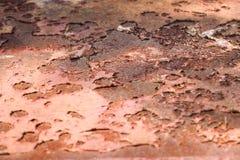 Metal que aherrumbra Fotos de archivo