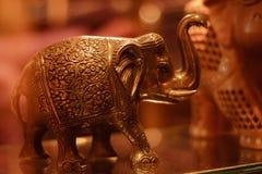 Metal que cinzela a arte de um elefante fotos de stock royalty free