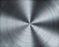 Metal que forma de textura de la máquina del CNC que tornea Foto de archivo libre de regalías