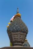 Metal que talla para la bandeja con el pedestal Imagen de archivo