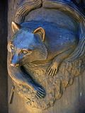 Metal Racoon Stock Images