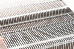 Metal radiator for cpu Royalty Free Stock Photo