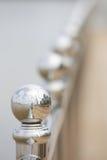 Metal railing Stock Photography