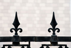 Metal railing Stock Photos