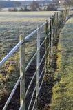 Metal railing. Royalty Free Stock Image