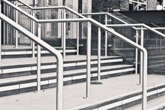 Metal railings Royalty Free Stock Photos