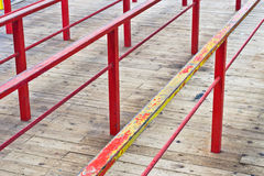 Metal railings Stock Photography