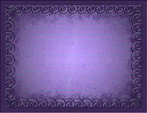 Metal rama na lampasa papierze Obrazy Stock