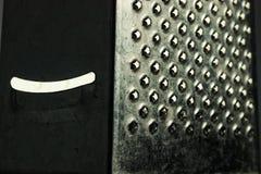 Metal Raspel mit Lächeln Stockfotografie