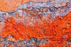 Metal, rdza, korodowanie, baryłka, zbiornik obrazy stock