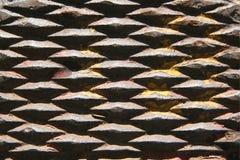 metal rdzewiejący żelaza fotografia stock