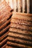 metal rdzewiejący tło Zdjęcia Stock
