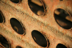 metal rdzewiejąca tekstura Obrazy Stock