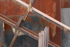 metal rdzewiejący Fotografia Royalty Free