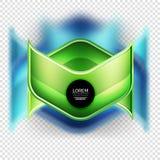 Metal realistic techno arrow background design Stock Image