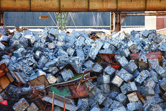 Metal recycle Royalty Free Stock Images