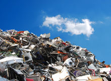 Metal recycling stock images