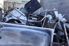 Metal recycling Royalty Free Stock Photography
