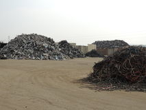 Metal recycling Stock Photography