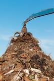 Metal recycling junkyard Stock Images
