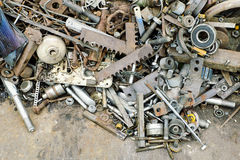 Metal recycling Royalty Free Stock Photos