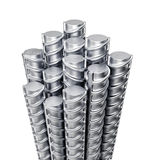 Metal reinforcements Stock Images