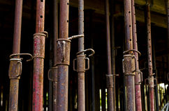 Metal reinforcing structure Stock Photo