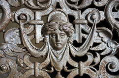 Metal relief Royalty Free Stock Photography