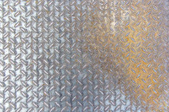 Metal rhombus shaped background and texture Royalty Free Stock Photography