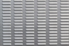 Metal ribbed surface Stock Images