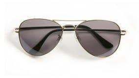 Metale rimmed okulary przeciwsłoneczne Fotografia Stock