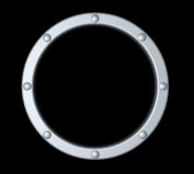 Metal ring Royalty Free Stock Images