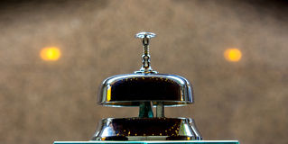 Metal ring bell Royalty Free Stock Images
