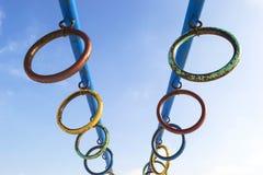 Metal Ringe Lizenzfreie Stockbilder