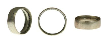 Metal Ringe Stockbild