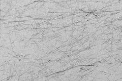 Metal riscado para o fundo e a textura, grunge imagem de stock