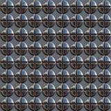Metal rivets Stock Image