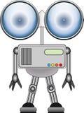 Metal robot Royalty Free Stock Photo