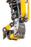 Metal robot parts Royalty Free Stock Photo