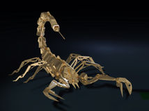 Metal robot scorpion Royalty Free Stock Photography