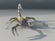 Metal robot scorpion Royalty Free Stock Photo