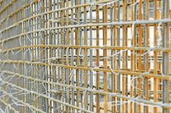 Metal rod reinforcement Stock Images